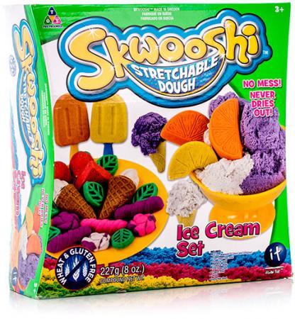 Набор для творчества Skwooshi Мороженое - масса для лепки и аксессуары S30024 skwooshi набор для лепки с аксессуарами бургер
