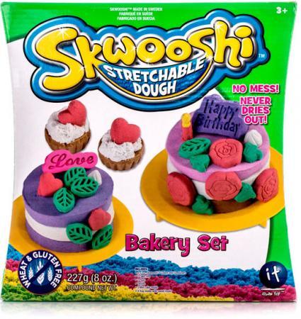 Набор для творчества Skwooshi Выпечка - масса для лепки и аксессуары S30022 skwooshi набор для лепки с аксессуарами бургер