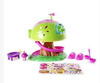 Игровой набор Popples Дом на дереве кукольные домики и мебель balbi игровой набор домик на дереве tt 010