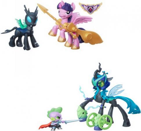 Игровой набор HASBRO My Little Pony 2 фигурки с артикуляцией B6009 в ассортименте набор hasbro my little pony пони с артикуляцией