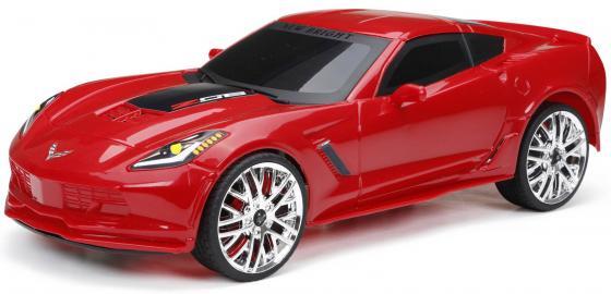 Машинка на радиоуправлении NEW BRIGHT Corvette Z06 красный от 6 лет пластик new bright new bright радиоуправляемые машинки challenger hellcat на р у