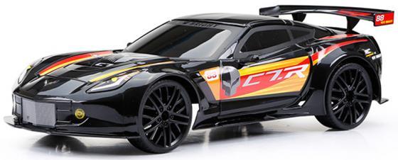 Машинка на радиоуправлении NEW BRIGHT Corvette C7R черный от 6 лет пластик машина new bright р у corvette z06 красный