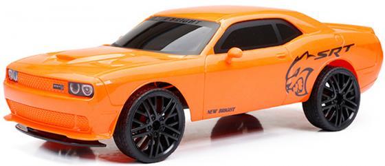 Машинка на радиоуправлении NEW BRIGHT Challenger Hellcat оранжевый от 6 лет пластик машинка на радиоуправлении new bright corvette c7r от 6 лет черный пластик