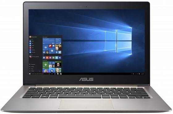 Ноутбук ASUS Zenbook UX310UQ-FC203T 13.3 1920x1080 Intel Core i3-6100U SSD 128 4Gb nVidia GeForce GT 940MX 2048 Мб серый Windows 10 Home 90NB0CL1-M03000 asus asus zenbook ux303ub 13 3 4гб ssd wi fi bluetooth intel core i5