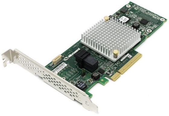 Контроллер Adaptec ASR-8405E 2293901-R контроллер adaptec 1000 8i hba 2288300 r