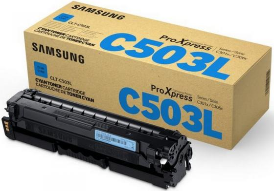 Картридж Samsung CLT-C503L/SEE для SL-C3060FR голубой картридж samsung clt c508l see голубой