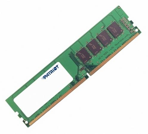 Оперативная память 4Gb PC4-17000 2133MHz DDR4 DIMM Patriot PSD44G213341 память ddr4 4gb 2133mhz kingmax 4096 2133 rtl pc4 17000