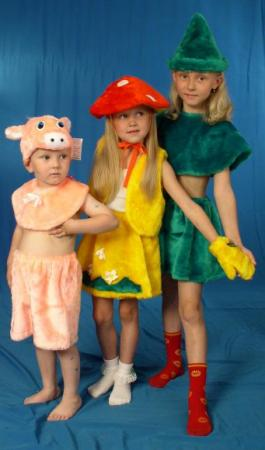 Карнавальный костюм Костюмы Гриб в ассортименте