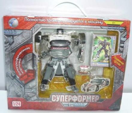 Робот-трансформер Shantou Gepai Суперформер  10720-02C giudi 10720 ae tk
