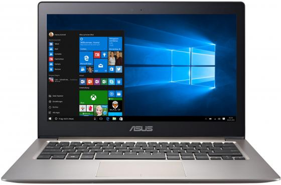 Ультрабук ASUS Zenbook UX303UB 13.3 1920x1080 Intel Core i5-6200U 128 Gb 4Gb nVidia GeForce GT 940M 2048 Мб коричневый черный Windows 10 Home asus zenbook ux303ub