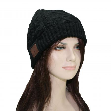 Bluetooth-гарнитура KREZ Talking Hat ABO1 Шапка со стерео-гарнитурой черный гарнитура ienjoy in066