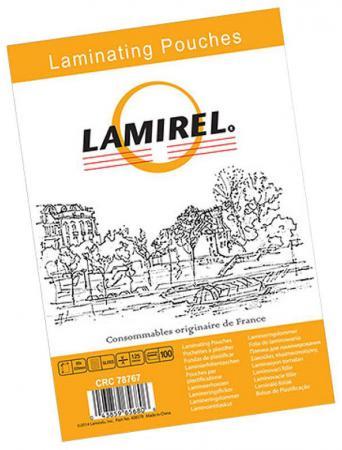 Пленка для ламинирования Fellowes Lamirel LA-7876701 83х113мм 125мкм 100шт цены