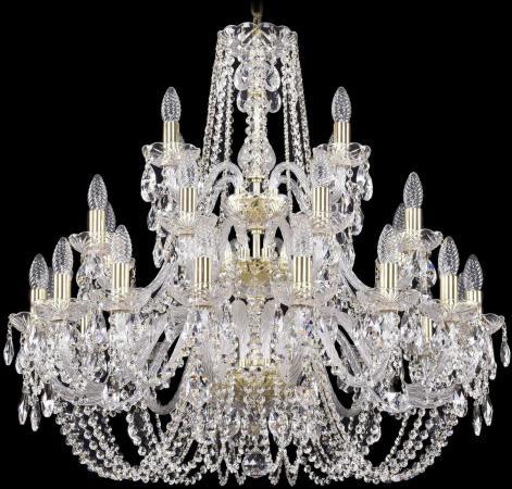 Подвесная люстра Bohemia Ivele 1402/16+8+4/300/3d/G bohemia ivele crystal подвесная люстра bohemia ivele 1402 16 300 g