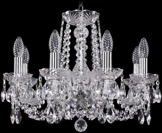 Подвесная люстра Bohemia Ivele 1402/8/160/Ni bohemia ivele crystal подвесная люстра bohemia ivele 1402 8 160 ni balls