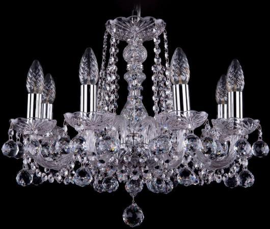 Подвесная люстра Bohemia Ivele 1402/8/160/Ni/Balls bohemia ivele crystal подвесная люстра bohemia ivele 1402 8 160 ni balls