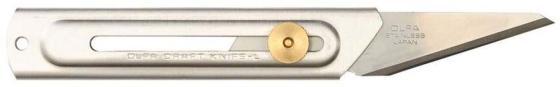 Нож Olfa хозяйственный с выдвижным лезвием корпус и лезвие из нержавеющей стали 20мм OL-CK-2 цена