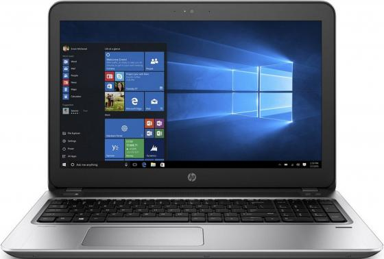 Ноутбук HP ProBook 450 G4 15.6 1366x768 Intel Core i3-7100U 500 Gb 4Gb Intel HD Graphics 620 серебристый DOS Y8A52EA ноутбук hp 15 bs027ur 1zj93ea core i3 6006u 4gb 500gb 15 6 dvd dos black