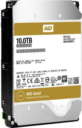 Жесткий диск 3.5 10Tb 7200rpm Western Digital WD Gold SATAIII WD101KRYZ