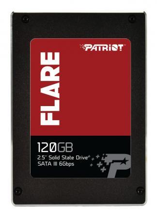 """Твердотельный накопитель 2.5"""" 120GB Patriot Flare SATAIII PFL120GS25SSDR цена и фото"""
