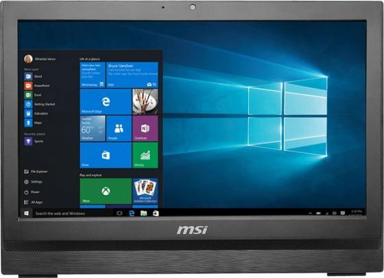 Моноблок 20 MSI Pro 20 6M-024RU 1600 x 900 Intel Pentium-G4400T 4Gb 1Tb Intel HD Graphics 510 DOS черный 9S6-AA7811-024 моноблок msi pro 22e 6nc 024ru 9s6 ac1711 024
