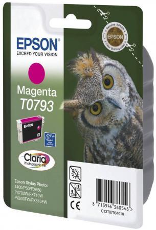 Картридж Epson C13T07934010 для Epson Stylus Photo 1500W пурпурный картридж epson c13t07954010 для epson stylus photo 1500w голубой