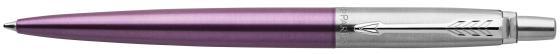 Шариковая ручка автоматическая Parker Jotter Core K63 Victoria Violet CT синий M 1953190 шариковая ручка автоматическая parker jotter core k63 waterloo blue ct синий m 1953191