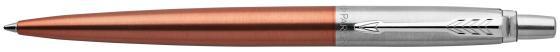 Шариковая ручка автоматическая Parker Jotter Core K63 Chelsea Orange CT синий M 1953189 шариковая ручка автоматическая parker jotter core k63 waterloo blue ct синий m 1953191