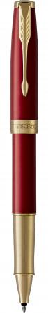 Ручка-роллер роллер Parker Sonnet Core T539 LaqRed GT черный F 1948085 parker ручка роллер sonnet stainless steel gt