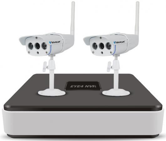 Комплект видеонаблюдения Vstarcam NVR-C16 KIT комплект видеонаблюдения vstarcam nvr c15 kit vstarcam n400p беcпроводная ip камера vstarcam c7815wip x2
