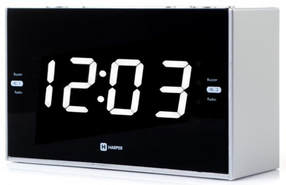 Радиобудильник Harper HCLK-2041 чёрный все цены