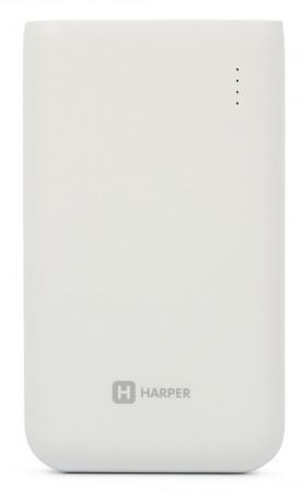 Внешний аккумулятор Harper PB-10010 10000 mAh белый цена и фото
