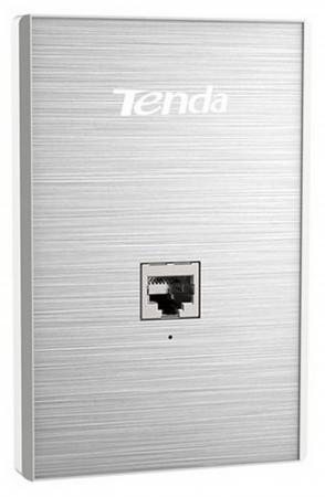Точка доступа Tenda W6-US 802.11bgn 300Mbps 2.4 ГГц 1xLAN серебристый