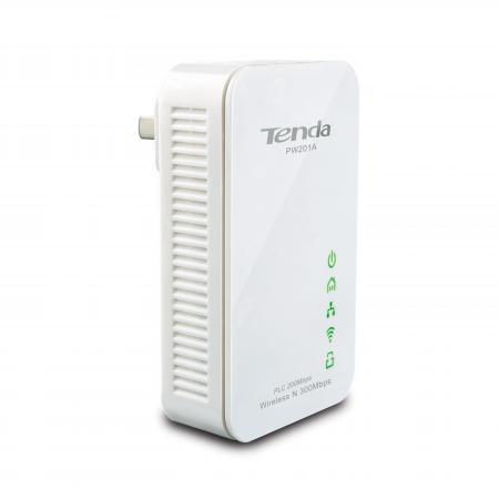 Точка доступа Tenda PW201A 802.11n 300Mbps 2.4ГГц + P200 цена и фото