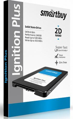 Твердотельный накопитель SSD 2.5 120 Gb Smart Buy SB120GB-IGNP-25SAT3 Read 560Mb/s Write 465Mb/s MLC