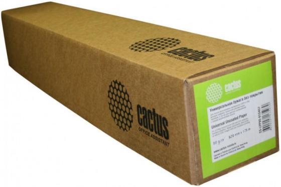 Фото - Бумага Cactus Eco CS-LFP80-610457E 610мм-45м 80г/м2 втулка 50.8мм бумага cactus cs lfp80 914175e a0 914мм 175м 80г м2 белый инженерная бумага втулка 76 2мм 3