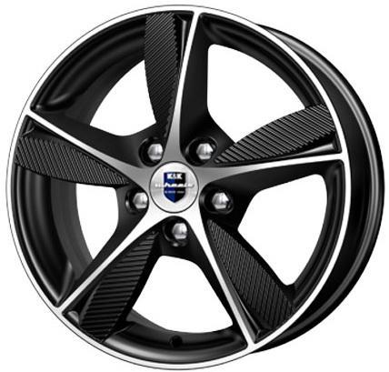 Диск K&K Кинезис КС679 6.5xR16 5x112 мм ET35 Алмаз черный 63667d литой диск ls wheels ls202 6x14 4x98 d58 6 et35 sf