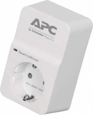 Сетевой фильтр APC PM1W-RS 1 1 розетка белый европласт 1 56 033 европласт потолочная розетка