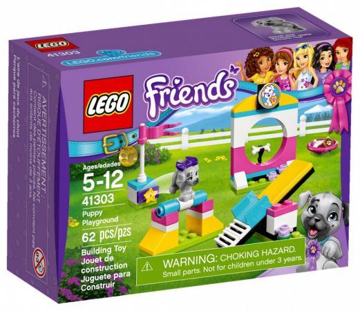 Конструктор LEGO Friends Выставка щенков: игровая площадка 41303 62 элемента lego friends выставка щенков игровая площадка