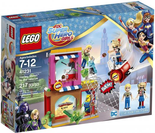 Конструктор LEGO Super Hero Girls - Харли Квинн спешит на помощь 217 элементов  41231 конструктор lego super hero girls харли квинн спешит на помощь 217 элементов 41231