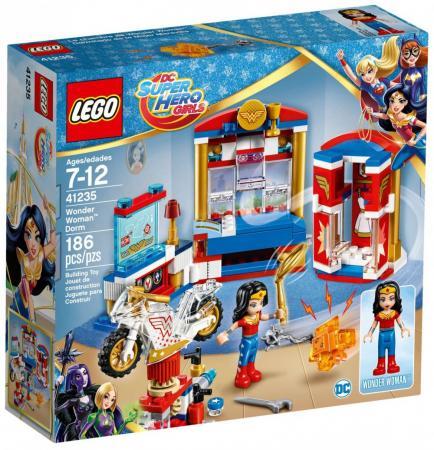 Конструктор LEGO Super Hero Girls - Дом Чудо-женщины 186 элементов  41235 велосипед navigator super hero girls 18 разноцветный двухколёсный
