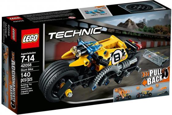 Конструктор LEGO Technic: Мотоцикл для трюков 140 элементов 42058 lego technic 42031 ремонтный автокран