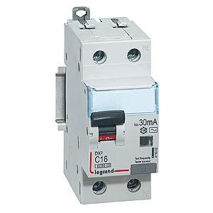 Выключатель дифференциального тока Legrand DX3 1П+Н C16А 10MA-A 1411041  выключатель дифференциального тока legrand dx3 1п н c16а 30ma ac 411002
