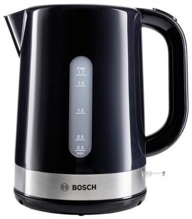 Чайник Bosch TWK7403 2200 Вт чёрный 1.7 л пластик