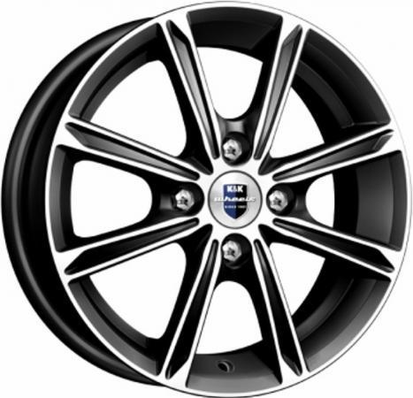 Диск K&K Флэш (КС698) 5xR14 4x98 мм ET35 Алмаз черный [65536] диск ls wheels ls231 6xr14 4x98 мм et35 sf