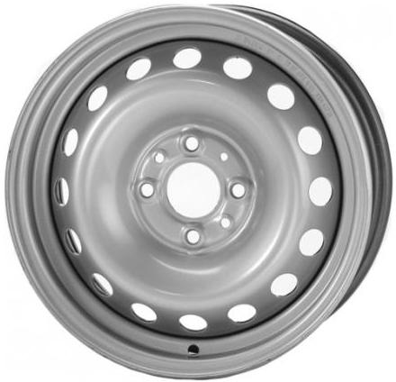 Диск Trebl 53C47G 5.5xR14 4x108 мм ET47 Silver литой диск nz wheels sh655 6x15 5x112 d57 1 et47 silver