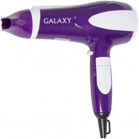 Фен GALAXY GL4324 2200Вт фиолетовый серебристый сковорода galaxy gl 9818