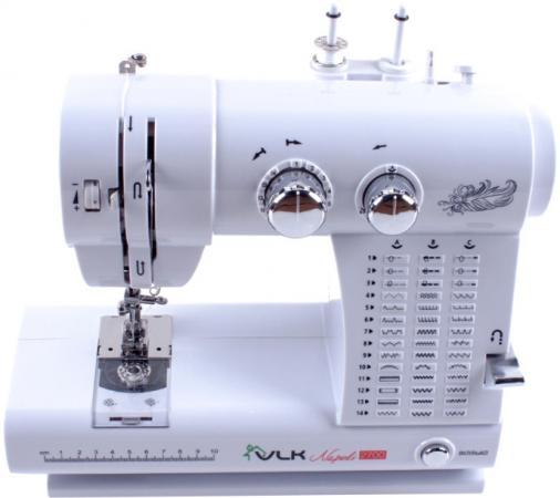 Швейная машина VLK Napoli 2700 белый электромеханическая швейная машина vlk napoli 2100