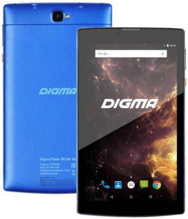 Планшет Digma Plane 7012M 3G 7 8Gb синий Wi-Fi 3G Bluetooth Android PS7082MG планшеты digma планшет digma plane 7007 3g