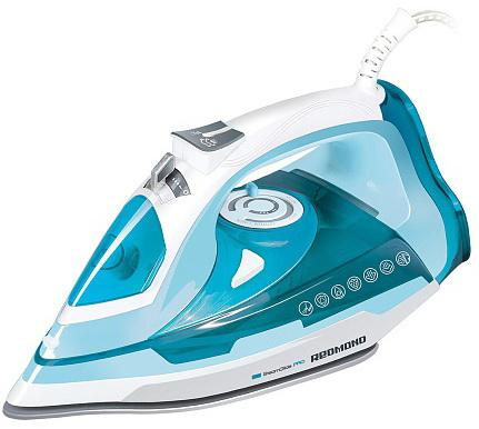 Утюг Redmond RI-C245 2200Вт белый голубой утюг redmond ri c252 2200вт розовый ri c252 розовый