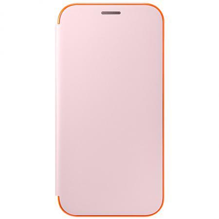 Чехол Samsung EF-FA720PPEGRU для Samsung Galaxy A7 2016 Neon Flip Cover розовый чехол для смартфона samsung для galaxy a8 neon flip cover черный ef fa530pbegru ef fa530pbegru